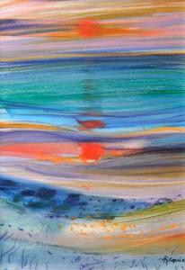 lot 113 - Camille HILAIRE (1916-2004), Coucher de soleil