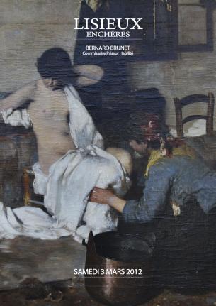 Belle vente mobilière : Livres, objets d'art, tableaux, mobilier – le 3 mars 2012 à Lisieux